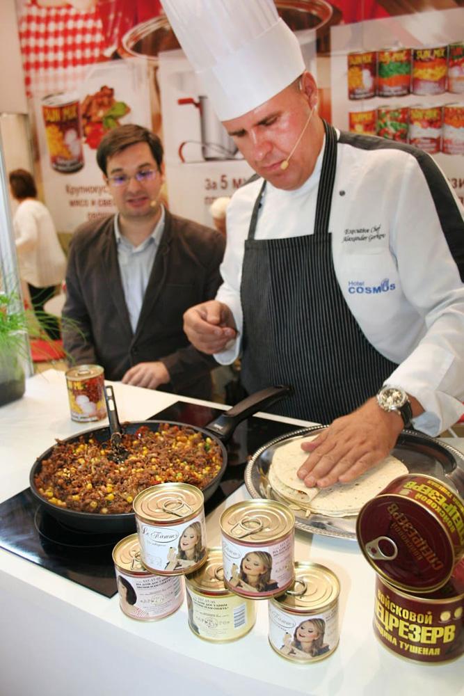 Кулинарное шоу от шеф-повара с тушенкой АРГО